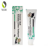 Organic herbal whitening bamboo charcoal toothpaste manufacture