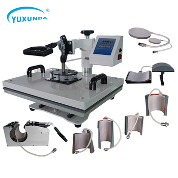 Yuxunda Economical And Practical Famous Brand Economical And Practical 5 In 1 Sublimation Heat Press Machine For Sublimation