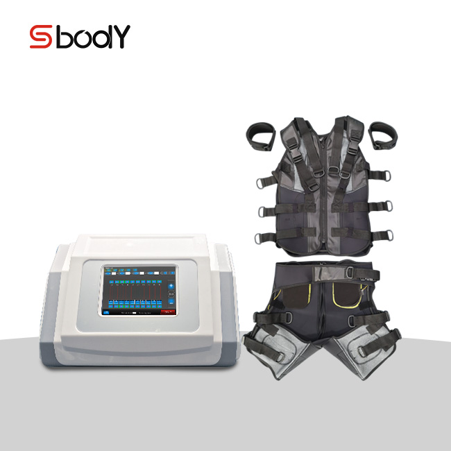 Sbody ems training equipment suits/ fitness equipment/ the best selling ems fitness machine