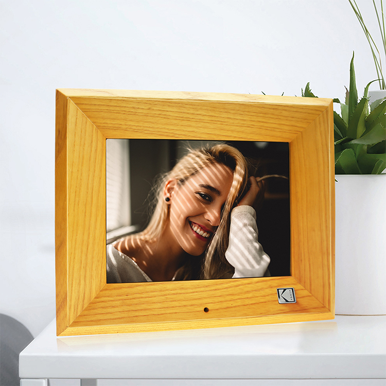 Manufacturer Wholesale 8 Inch Hd Led Screen Digital Photo Frame With Clock