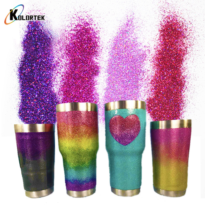 Shining Glitter Powder Bulk Fine Glitter for Tumbler Nail Resin Craft Festival Christmas <strong>Decoration</strong>