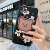 Cute Cartoon Graffiti Bear Bracket Shockproof Silicone Case For iPhone 11 Pro X XR XS Max 8 7 6 6S Plus SE Soft TPU Back Cover