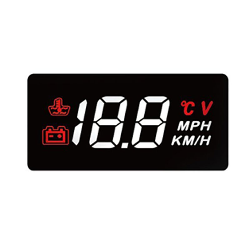 Car Speed Projector windshield HUD head up display <strong>A100</strong> diagnostic tool overspeed Warning System Voltage Alarm