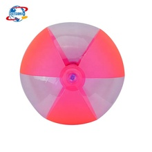 16in Beach Toy PVC Colorful Beach Ball Inflatable Ball for Pool Party