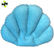 waterproof inflatable spa bath pillow with suction cups