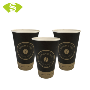 foodgrade 12oz/8oz paper coffee cup with lids