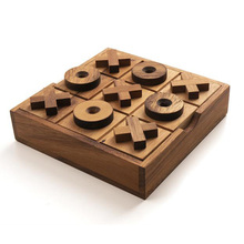 Tic Tac Toe Wood Coffee Tables Family <strong>Games</strong> to Play and a Classic <strong>Game</strong> Home Decor for Living Room Rustic Table Decor