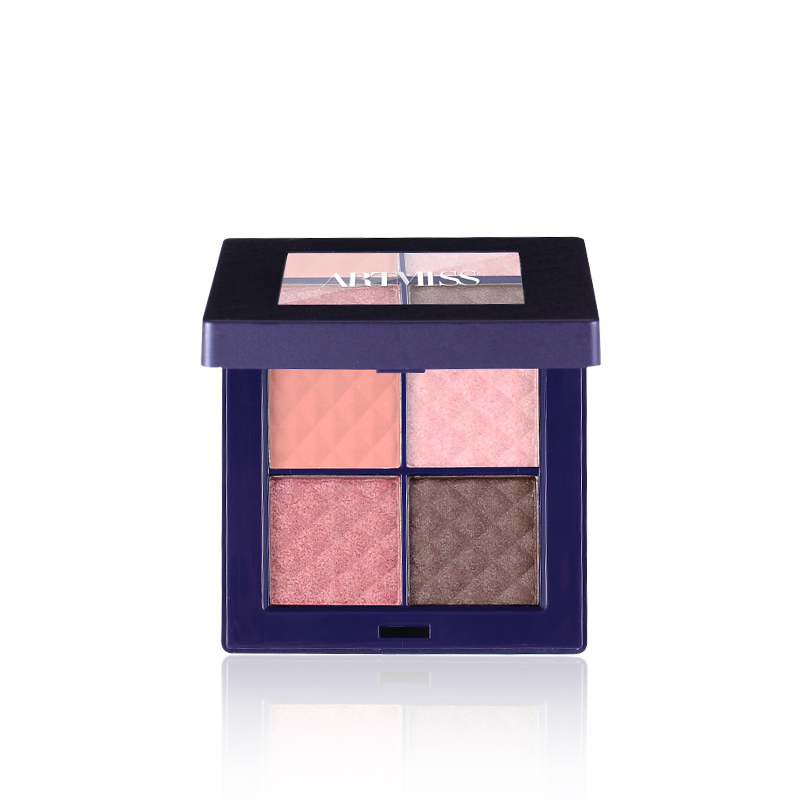 ARTMISS <strong>cosmetics</strong> High Quality eye shadow beautiful 4 color eyeshadow Palette