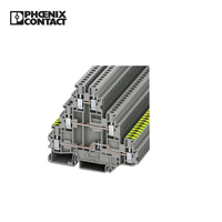 Phoenix ContactUT 2.5-PE/L/L Grounding Din Rail Terminal Block Screw Wire Connector