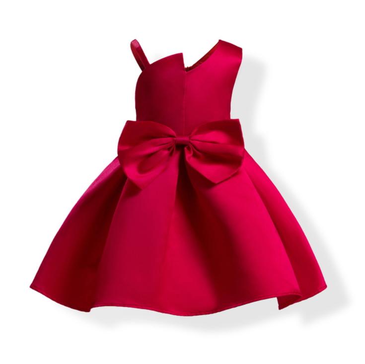 Girls Summer Hot Sale One-shoulder  Girl Costume Princess Party Dress