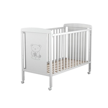 No.1116-<strong>D</strong> Hot sale ChildrenSolid wood pine wood baby crib baby cot