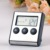 Kitchen food thermometer Digital Probe Oven & Meat Thermometer Timer for BBQ Grill Meat Food Cooking