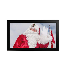 1920*1080 Operated Battery Touch Screen 22&quot; wifi download new mp4 videos/21.5 inch digital photo frame with <strong>android</strong> wifi