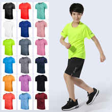 wholesale Customized <strong>color</strong> and logo boys t shirt oem service cotton t-shirt go with baseball track boy jogger t-shirt
