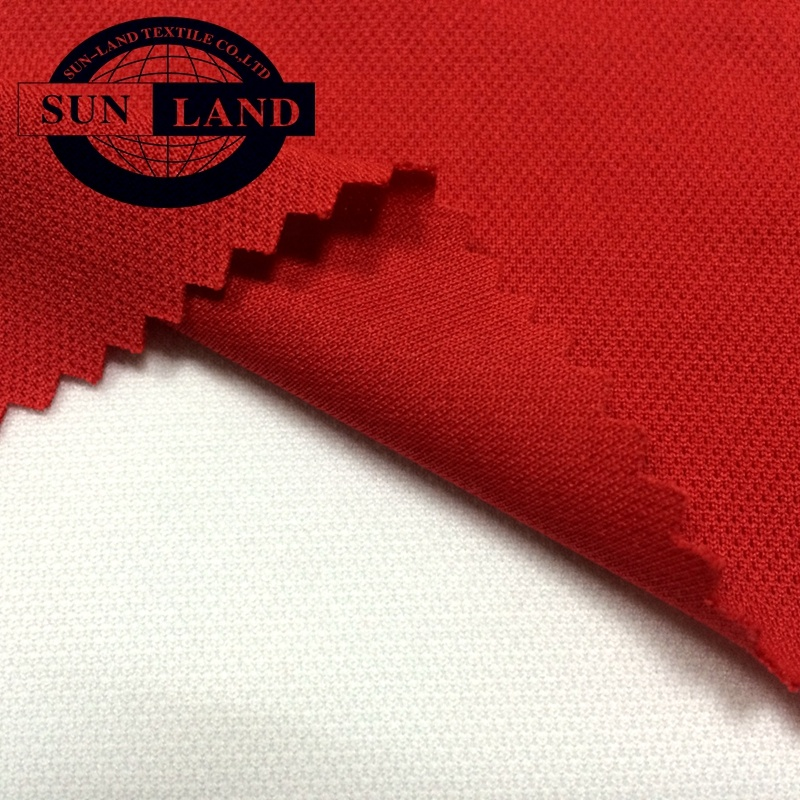 China factory supply weft knitted dry fit polyester polypropylene one way wicking pique fabric for sportswear