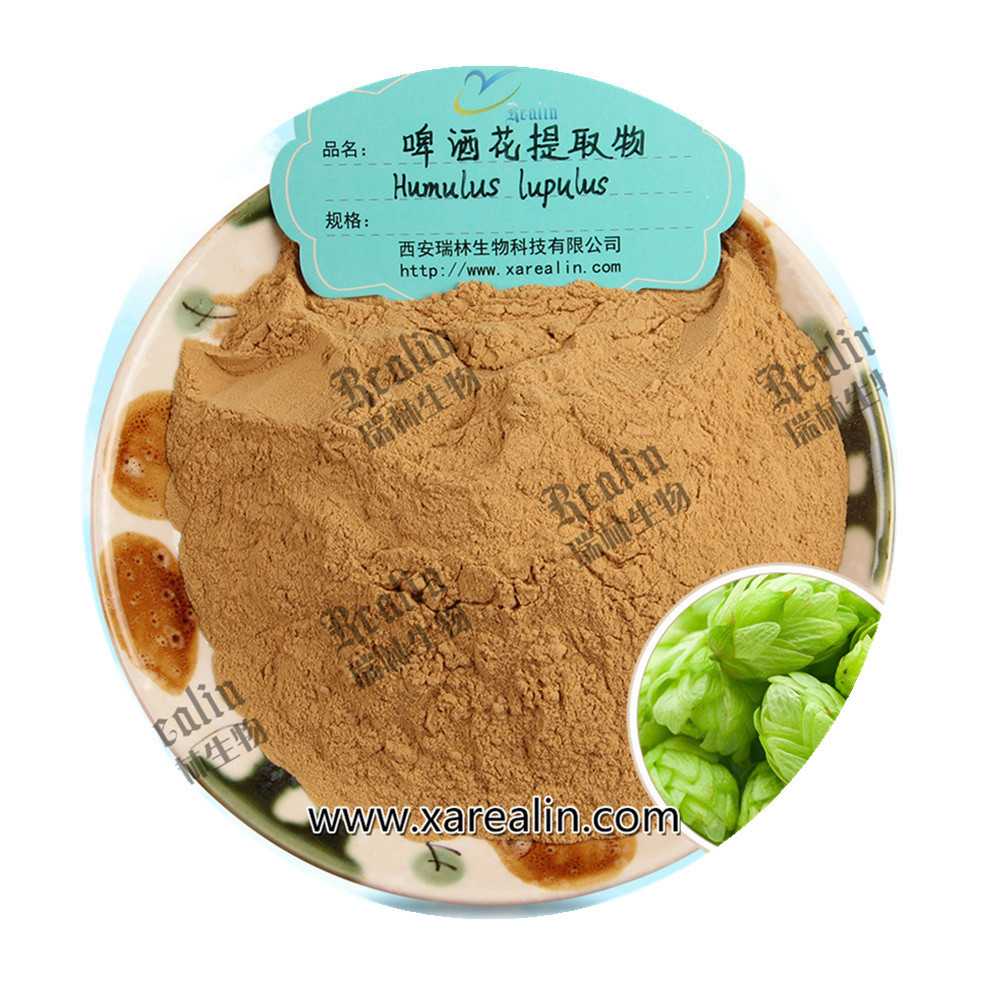 Top Quality <strong>Natural</strong> Hops Flower Extract Flavonoids Powder