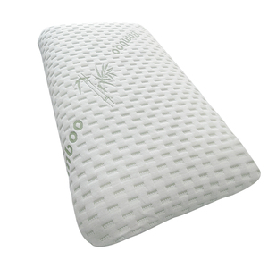 Antibacterial bamboo shredded memory foam pillow memory foam bed pillow