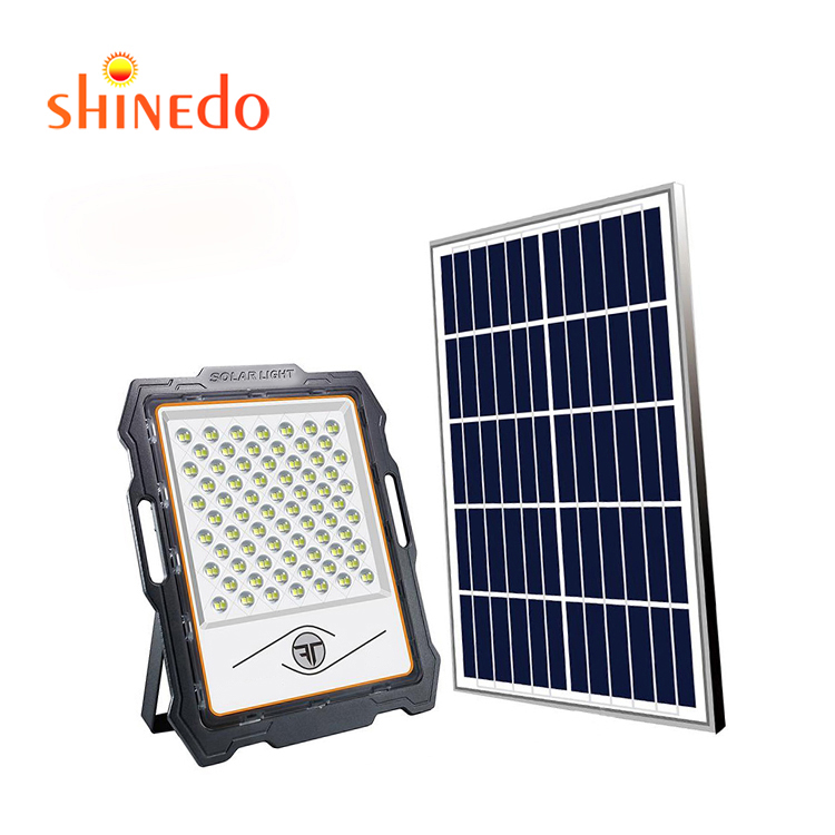 High Efficiency Super Bright IP67 Waterproof 100w 200w 300W 400W 600W Outdoor Led Solar Panel Flood <strong>Lights</strong>