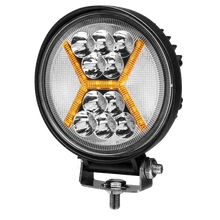 4.5 Inch Round Drl Led <strong>X</strong> Strobe Flash Fog Lamp Combo Beam Offroad SUV 4WD Truck Cars Work Light