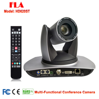 Telemedicine Conference Church Videocamera 20x Optical Zoom PTZ IP DVI Video interface audio studio with 3G SDI Output
