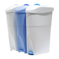 foot pedal bathroom plastic ladi feminine hygiene sanitary trash bins