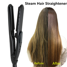 Steam Function Flat Iron Tourmaline <strong>Best</strong> <strong>Hair</strong> Straightening Irons Steam <strong>Hair</strong> <strong>Straightener</strong>