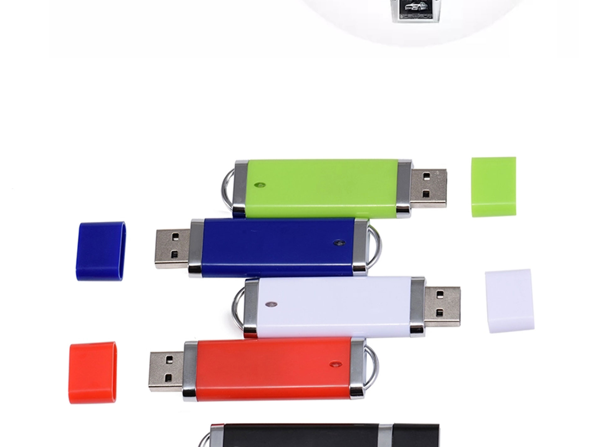 2020 New Year promotional custom logo cartoon memory usb stick promo mini usb flash drive