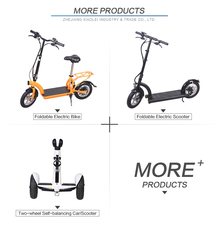 Easy foldable factory direct supply electric scooter