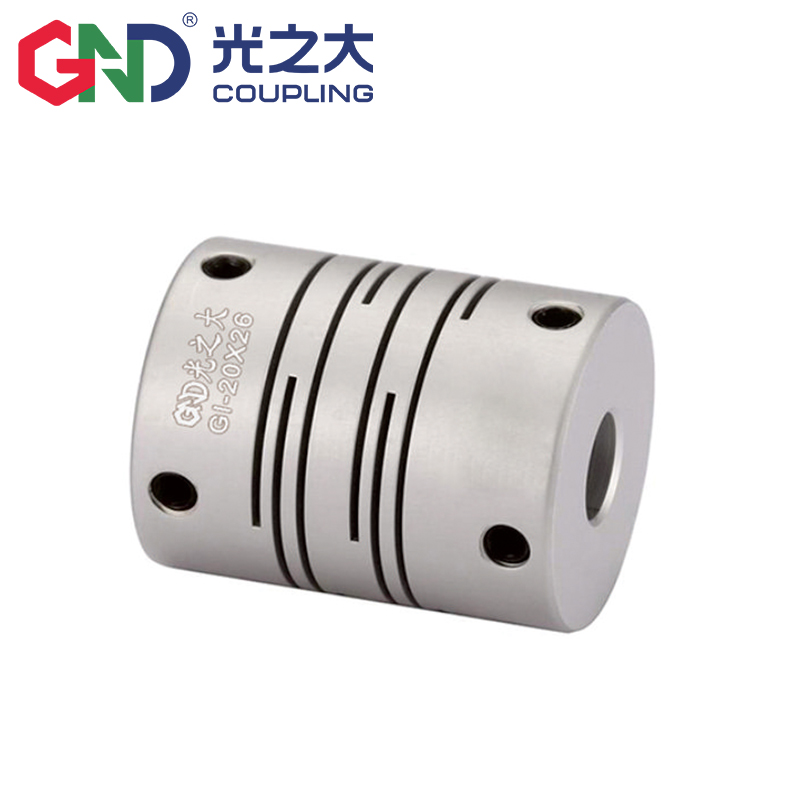 GI High-strength Aluminum Alloy Parallel Lines Setscrew Shaft Coupling Series <strong>D12</strong> L18.<strong>5</strong> Encoder Stepmotor Coupling 2mm~6.35mm