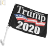 design your own car window trump flag for sale with holder and poles