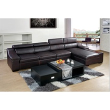 Luxury Sectional <strong>Furniture</strong> Sofa Set Designs , Couch Living Room Leather <strong>Furniture</strong> Corner Sofa Set Designs