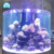 Factory Supply Cylindrical Aquarium Fish Tank