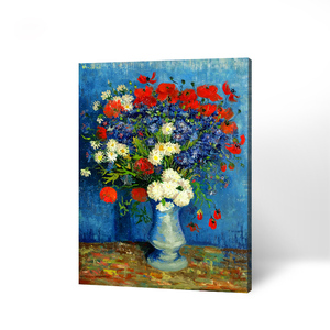 Printed Wall Art Decor Painting Flower Oil Painting On Canvas