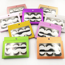 Beauty 3D Silk Lashes Handmade Dramatic False Eyelash 3 pairs with tweezers Pack