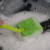 Kitchen Cleaning Tool Scouring Pad Cleaning Brush with Plastic Handle