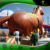 Huge Inflatable Horse, Inflatable Jumping Horse, Inflatable Parade Flying Helium Horse