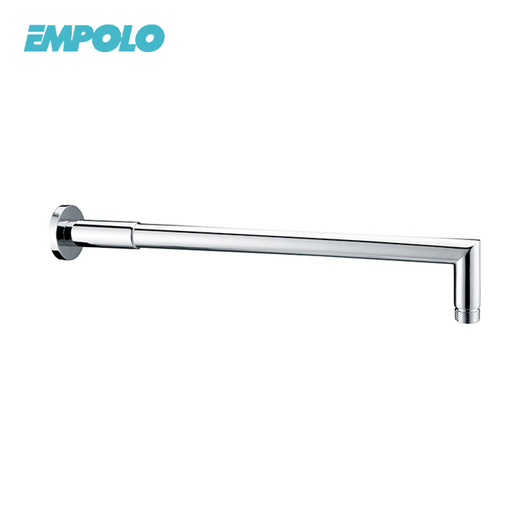 Long Brass 400mm Replacement Chrome Finish Shower Arm