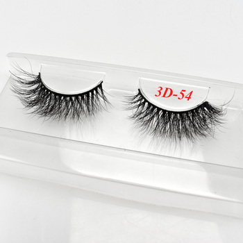 Private Label 3D Mink Eyelash Natural Long Mink Lashes Real Mink Eyelash Vendor With Eyelash Packaging Box