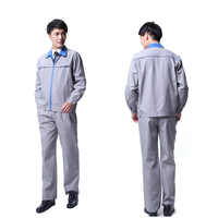 Antistatic safety work wear uniform for electrician
