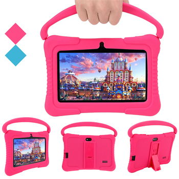 Best Amazon Tablet Price Budget Buy 7 Inch Educational Learning Study Game Gaming Kids Android Tablet PC for 0-11 Year Old