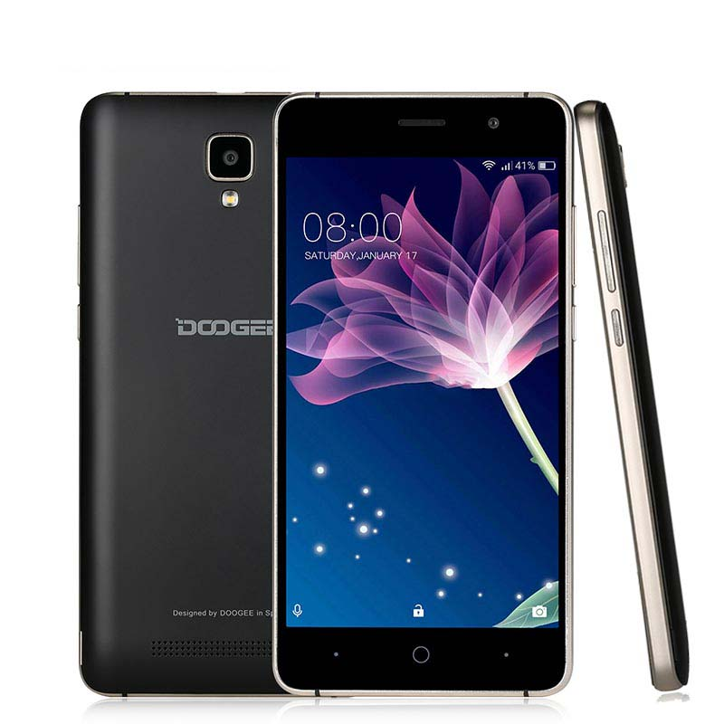 3G Original Doogee <strong>X10</strong> Smartphone 5.0'' Android 6.0 MTK6570 Dual Core Metal Frame RAM 512M ROM 8GB 3360mAh Cellphone GPS WIFI