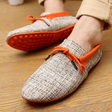 2020 men driver <strong>shoes</strong> wholesale loafer single <strong>shoes</strong> linen lace-up man casual <strong>shoes</strong>