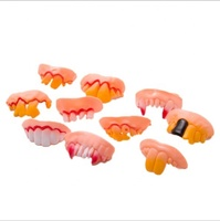Eco-friendly PVC False Teeth Joke Magic Toys
