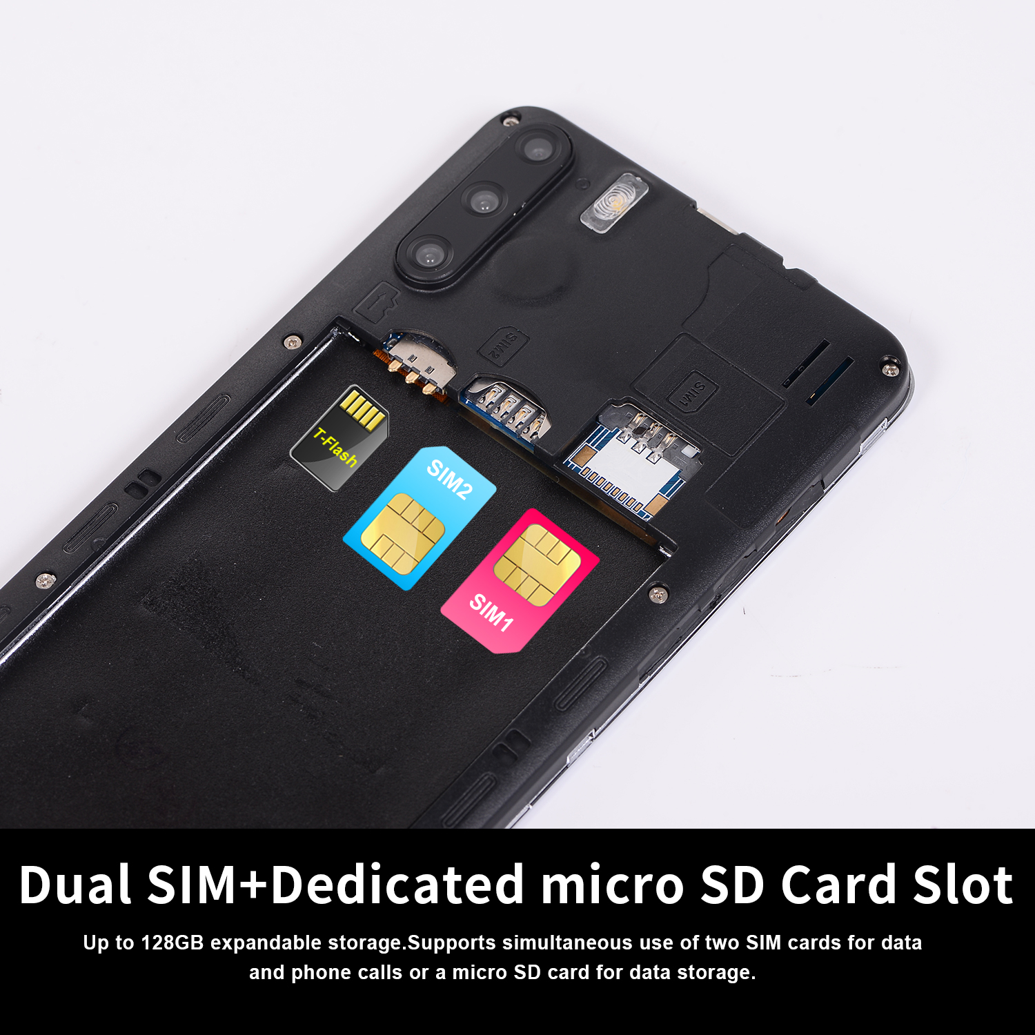 "Factory hot sell 5.8"" 3g cheap smartphone with sim card slot  GPS bluetooth cell phone"