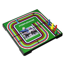 Funny Portable Folding Magnetic Steeplechase Board <strong>Game</strong>