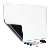 Big flexible magnetic dry erase whiteboard sheet