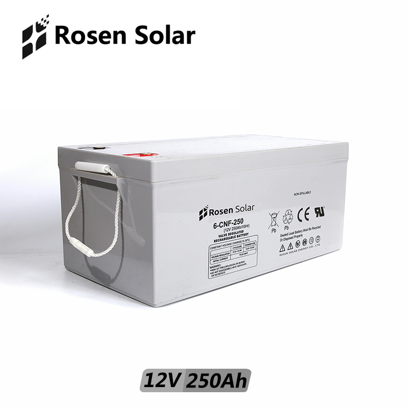 GEL <strong>Battery</strong> 12V 150Ah 200Ah 250Ah For Solar Energy Storage