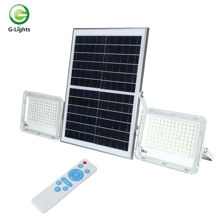 High quality outdoor garden project lamp 60 100 120 150 200 300 400 <strong>w</strong> solar led flood lighting