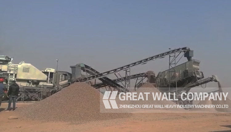 Large Capacity Mobile Crusher Plant For Sale, Good Price Mobile Crushing Plant