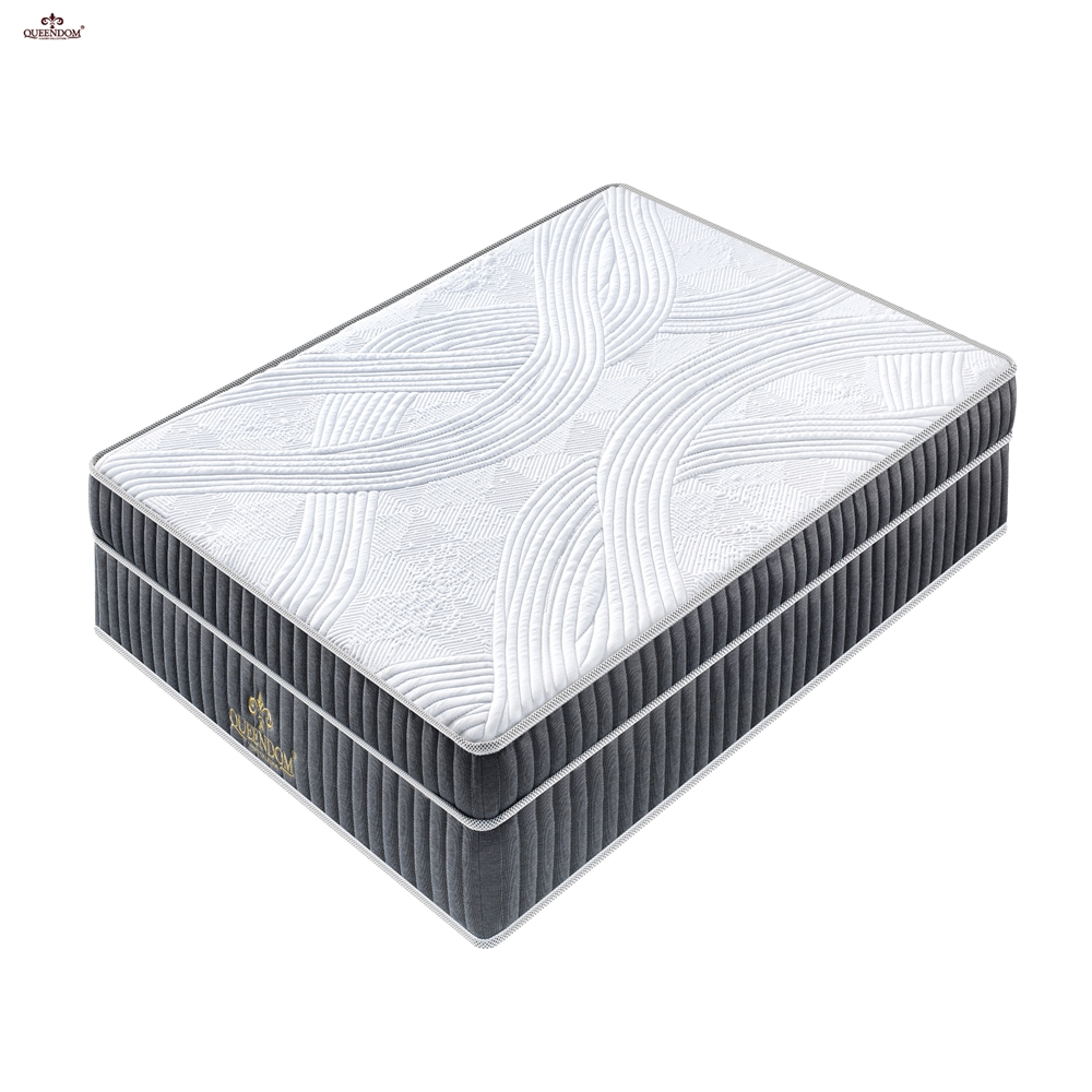 hot sale luxury compressed memory foam commercial comfortable latex spring mattress - Jozy Mattress | Jozy.net
